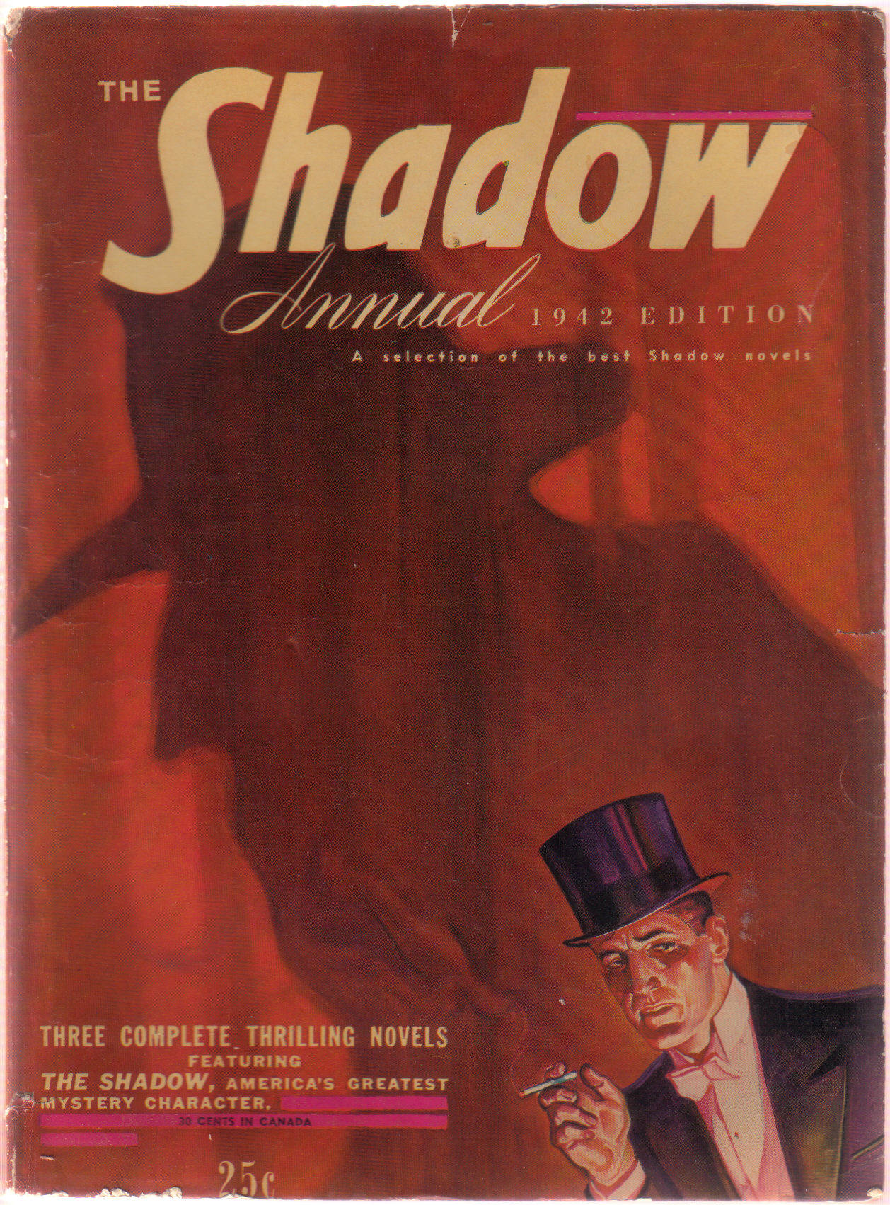 Image for The Shadow ( Pulp Magazine ) ANNUAL 1942 Edition ( The Living Shadow; The Ghost Makers; The Black Hush )