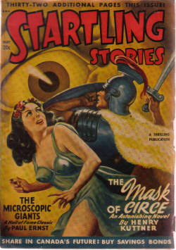 Image for Startling Stories May 1948, Volume 17, # 2 ( The Mask of Circe; No escape from Destiny; The Simple Life; The House of Rising Winds; The Seekers; Journey; The Microscopic Giants; After  the Atom  )