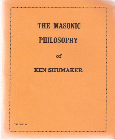Image for The Masonic Philosophy of Ken Shumaker from the Oregon Freemason