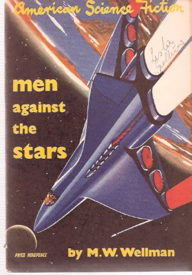 Image for Men Against the Stars ---with Ecological Onslaught ----with Dark Interlude:  American Science Fiction