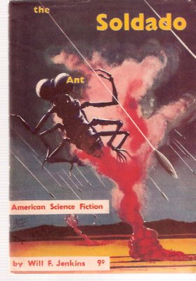 Image for The Soldado Ant (cover story by Jenkins) ---with Private Eye (by Kuttner) --- with Mouse (by Brown):  American Science Fiction Series