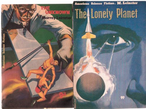 Image for The Lonely Planet ---with The Unknown ---by Murray Leinster:  American Science Fiction Series ---2 volumes ( Go to the Ant )