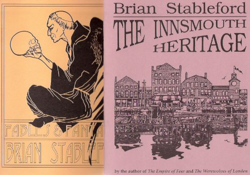 Image for The Innsmouth Heritage ---with Fables and Fantasies  ---2 Volumes - Necronomicon Press ---by Brian Stableford