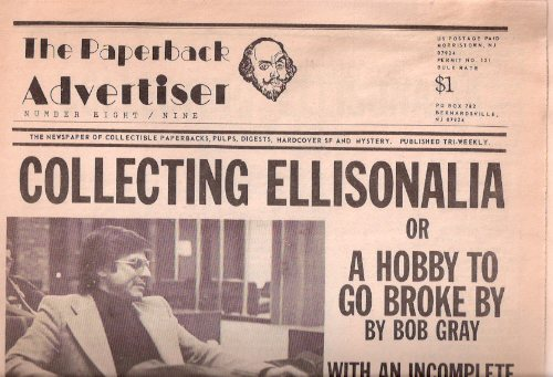 Image for Collecting Ellisonalia ---by Bob Gray ---The Paperback Advertiser  1983 ( Harlan Ellison )