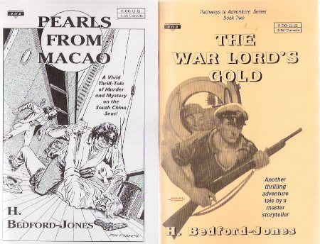 Image for Pearls from Macao ---with The War Lord's Gold ---by H Bedford-Jones ---book One and Two of the Pathways to adventure Series