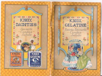 Image for Knox Sparkling Granulated Gelatine:  Dainty Desserts, Candies, Salads