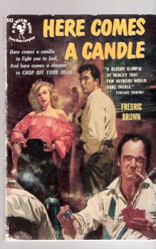 Image for Here Comes a Candle ----by Fredric Brown