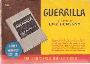 Image for Guerrilla ---by Lord Dunsany  ( Armed Services Edition / ASE # Q-14 )