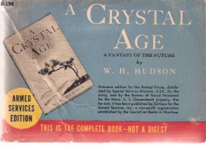 Image for A Crystal Age -a Fantasy of the Future By W H Hudson ( Armed Services Edition / ASE # G-196)