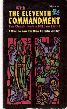 Image for The Eleventh ( 11th ) Commandment -A Novel of a Church and its World ---by Lester Del Rey