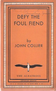 Image for Defy the Foul Fiend or, the Misadventures of a Heart :  The Albatross Modern Continental Library