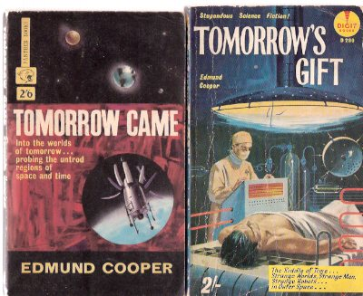 Image for Tomorrow's Gift ---with Tomorrow Came ---2 Volumes ---by Edmund Cooper