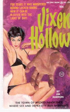 Image for Vixen Hollow -by Jim Harmon