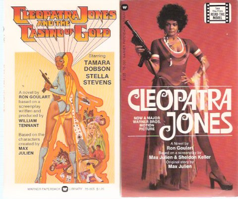 Image for Cleopatra Jones ---with Cleopatra Jones and the Casino of Gold -by Ron Goulart --signed