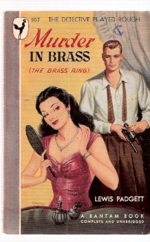 Image for Murder in Brass ---by Lewis Padgett ( Henry Kuttner ) (AKA:  The Brass Ring ) ---by Lewis Padgett