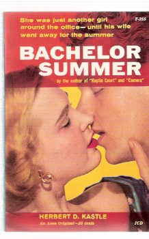Image for Bachelor Summer ---by Herbert Kastle