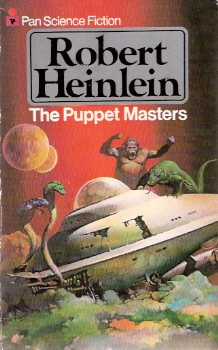 Image for The Puppet Masters ---by Robert Heinlein