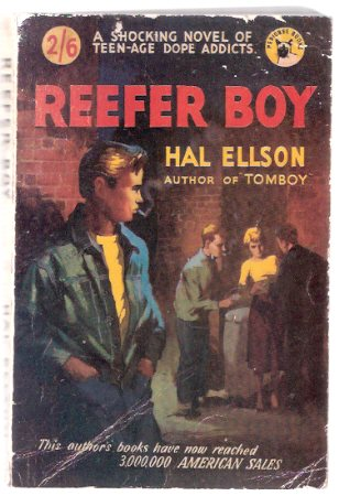 Image for Reefer Boy -----a Shocking Novel of Teen-Age Dope Addicts ---by Hal Ellson  (released in the USA as:  The GOLDEN SPIKE )