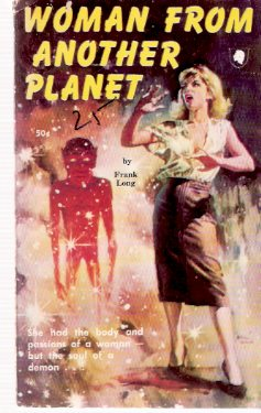 Image for Woman from Another Planet ---by Frank Belknap Long