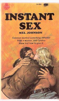 Image for Instant Sex -by Mel Johnson / A Midwood Book