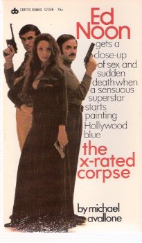 Image for The X-Rated Corpse ---an Ed Noon Mystery  -by Michael Avallone