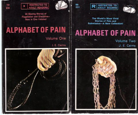 Image for Alphabet of Pain -26 blazing Stories of Flagellation and Discipline, Volume 1 ---with Alphabet of Pain, the World's Most vivid Stories of pain and Submission, a Further A - Z of Sado-Masochism, Volume 2 --- Two Books