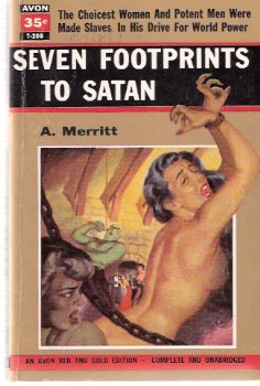 Image for Seven ( 7 ) Footprints to Satan ---by A Merritt
