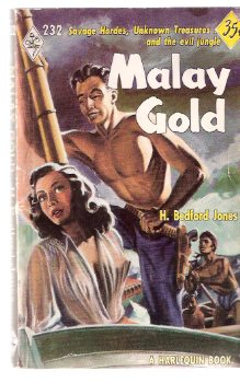 Image for Malay Gold ----by H Bedford-Jones --- Harlequin # 232