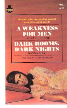 Image for A Weakness for Men / Dark Rooms, Dark Nights