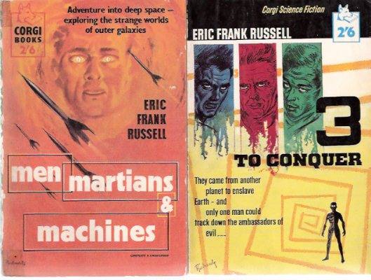 Image for Men, Martians and Machines ---with Three ( 3 ) to Conquer ---2 Volumes ---by Eric Frank Russell