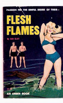Image for Flesh Flames -by Don Eliot