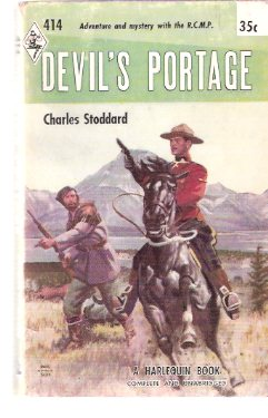 Image for Devil's Portage / Harlequin # 414 ( RCMP / R C M P / Royal Canadian Mounted Police cover)