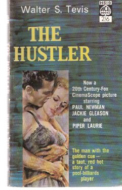 Image for The Hustler ( Movie Tie-In to the Paul Newman / Piper Laurie / Jackie Gleason Film )