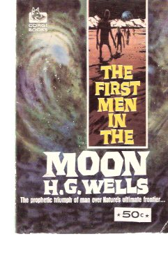 Image for The First Men in the Moon -by H G Wells
