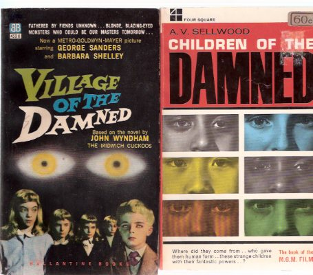 Image for Village of the Damned ---with Children of the Damned -The Book of the MGM Film  ---2 Volumes (aka:  The Midwich Cuckoos )