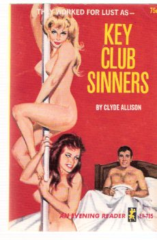 Image for Key Club Sinners -by Clyde Allison