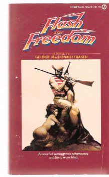 Image for Flash for Freedom ---by George MacDonald Fraser ---with Frank Frazetta Cover Art