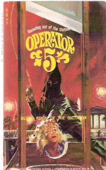 Image for Operator 5 :  Blood Reign of the Dictator, Book # 6