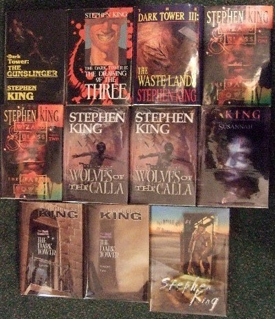 Image for Roland Deschain Cycle: Gunslinger; Drawing Three; Waste Lands; Wizard & Glass; Wolves Calla; Song Susannah; Dark Tower; Little Sister of Eluria; Wind Through Keyhole -12 Volumes - all # 433 -book I, II, III, IV, V, VI, VII, VIII Plus Eluria ( Wastelands )