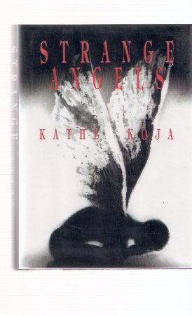 Image for Strange Angels --by Kathe Koja --- Signed Bookmark / Bookplate