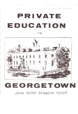 Image for Private Education in Georgetown ( Ontario - Local History related)