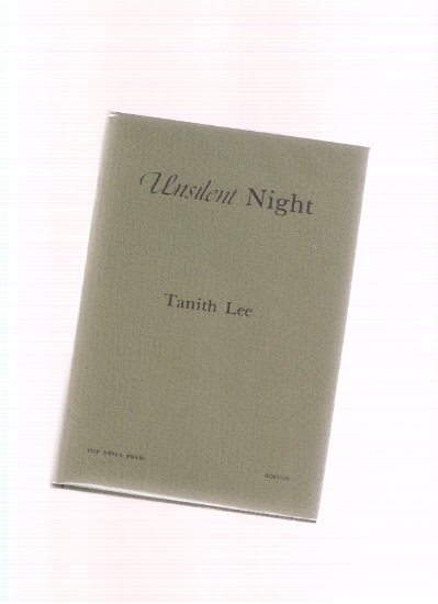 Image for Unsilent Night ---by Tanith Lee ( Inscribed to Donald and Elsie Wollheim )