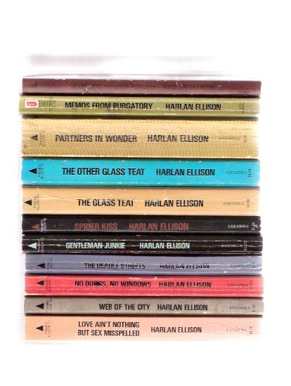 Image for Harlan Ellison Pyramid Set:  Love Ain't Nothing but Sex Misspelled; Web City; No Doors No Windows; Deadly Streets; Gentleman Junkie; Spider Kiss; Glass Teat / Other; Partners in Wonder; Memos from Purgatory; Paingod and Other Delusions -11 Volumes