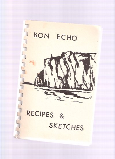 Image for Bon Echo Recipes and Sketches / Lennox and Addington Swimming Committee ( Ontario ) ( Cook Book / Cookbook )