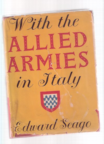 Image for Edward Seago:  With the Allied Armies in Italy ( Wartime Paintings  and Sketches )