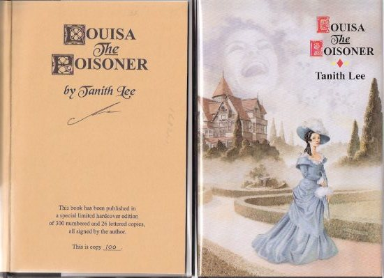 Image for Louisa the Poisoner ---by Tanith Lee - a signed Copy
