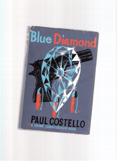 Image for Blue Diamond ---a Terence O'Hara Private Eye Mystery -by Paul Costello