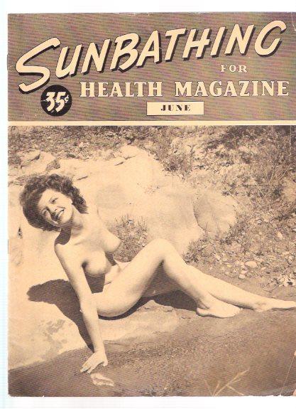 Retro nudist magazine speaking