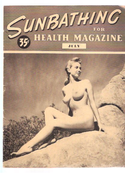 Image for Sunbathing FOR Health Magazine ---volume 3, # 4, July 1949 ( Nudist Publication )