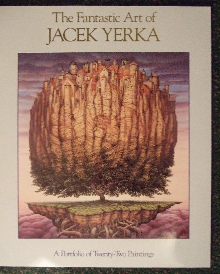 Image for The Fantastic Art of Jacek Yerka:  A Portfolio of Twenty-Two Paintings ( 22 ) ( Fantasy Illustrations )